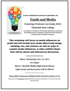 Youth & Media Parent Workshop